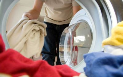 La carga de la lavadora